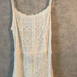 7cebabe71cb Lulu s Dresses - Lulu s Faithfully yours White lace maxi dress